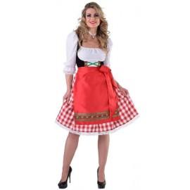 Déguisement tyrolienne classique femme luxe