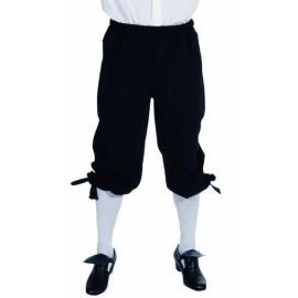 Déguisement marquis pantalon noir homme luxe