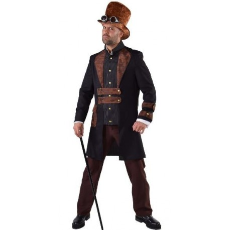 """Déguisement Steampunk """"Charly"""" homme luxe"""