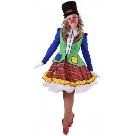 Déguisement clown Pipo femme luxe