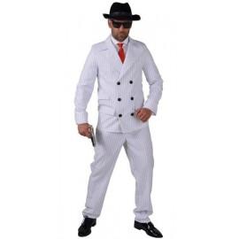Déguisement gangster blanc homme années 20-30 luxe