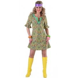 Déguisement hippie femme Summer of love luxe