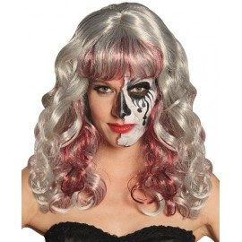 Perruque Bloody Valentina femme Halloween luxe