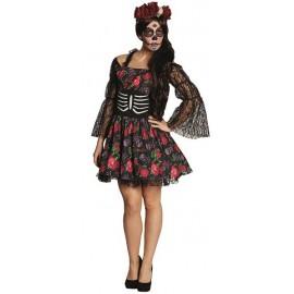 Déguisement La Catrina Dia de los Muertos femme Halloween