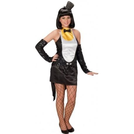 Déguisement pingouin femme chic
