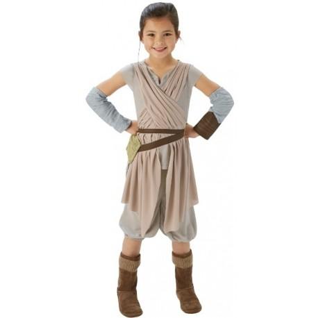 Déguisement Rey enfant Star Wars VII Disney luxe