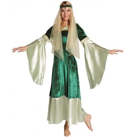 Déguisement fée celtique médiévale femme luxe