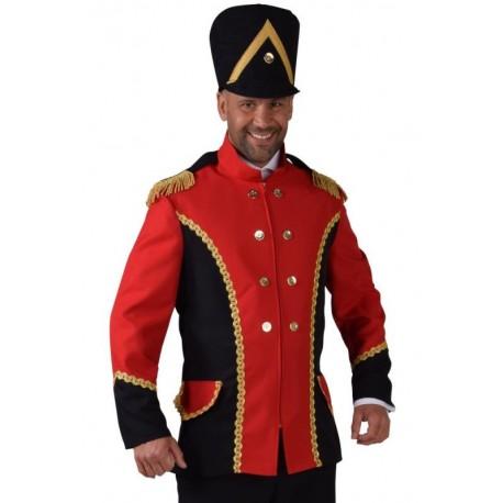 Déguisement veste harmonie rouge homme luxe