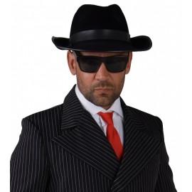 Chapeau Al Capone Noir adulte