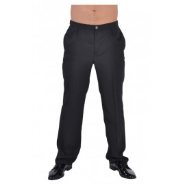 Déguisement pantalon de costume noir homme luxe