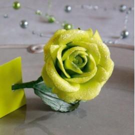 Bouquet de 5 Roses Pailletees Ambiance 1