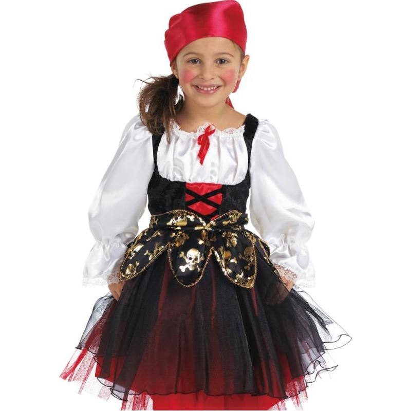 D guisement pirate fille - Maquillage pirate fille ...