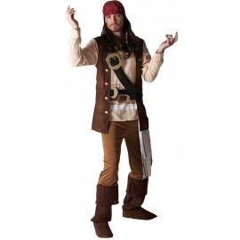 Déguisement Jack Sparrow Pirate des Caraïbes adulte