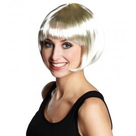 Perruque blonde courte femme