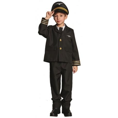 Déguisement pilote de ligne garçon