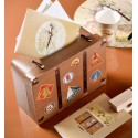 Tirelire valise voyage 24 x 16 cm