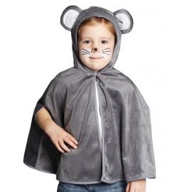 Déguisement cape souris grise bébé et enfant