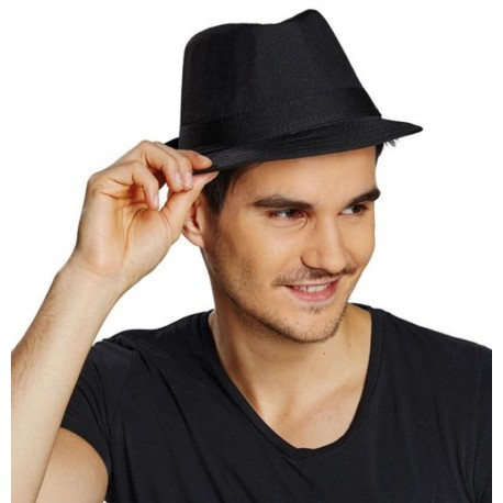 Chapeau Fedora noir homme