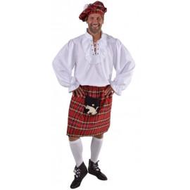 Déguisement kilt écossais homme luxe
