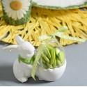 Coquetiers lapin blanc en dolomite les 20