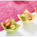 Coquetiers coupelle vert anis en dolomite les 40