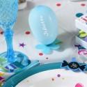 Mini ballons de baudruche turquoise 8 cm les 25