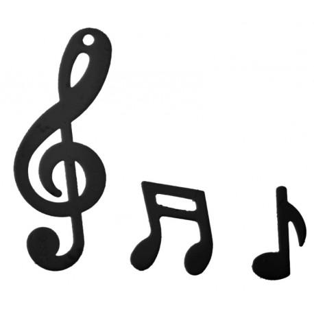 Confettis de table note de musique noire 20 grs