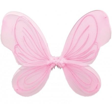 Ailes de fée rose enfant fille 36 x 49 cm