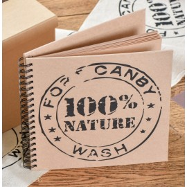 Livre d'or Kraft naturel 100% nature