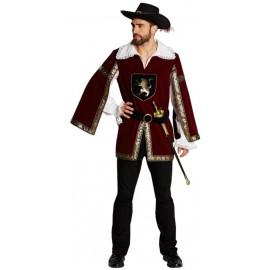 Déguisement chevalier mousquetaire homme
