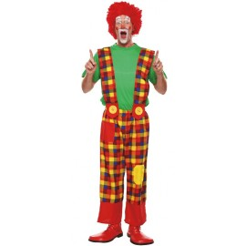Déguisement clown pantalon homme