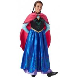 Déguisement Anna de la reine des neiges adulte Disney