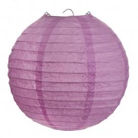 Lanternes boule chinoise papier parme 30 cm les 2