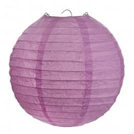 Lanternes boule chinoise papier parme 20 cm les 2