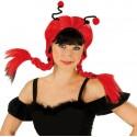 Perruque coccinelle Ladybug femme