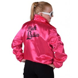 Déguisement Veste Pink Ladies fille Veste Pink Ladies Grease