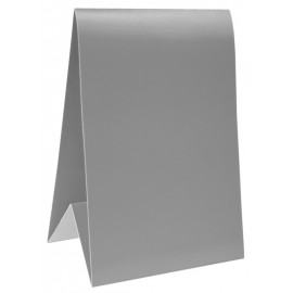 Marque-table carton gris 15 cm les 60