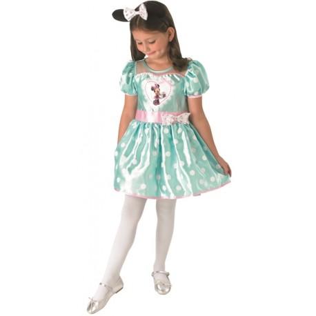 Déguisement Minnie Mouse cupcake menthe fille