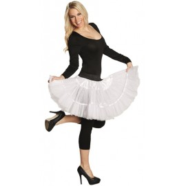 Déguisement jupe tulle blanc femme