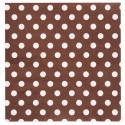 Serviettes papier chocolat à pois les 20