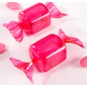 Boîtes à dragées Bonbon plexi fuchsia 8.5 cm les 40