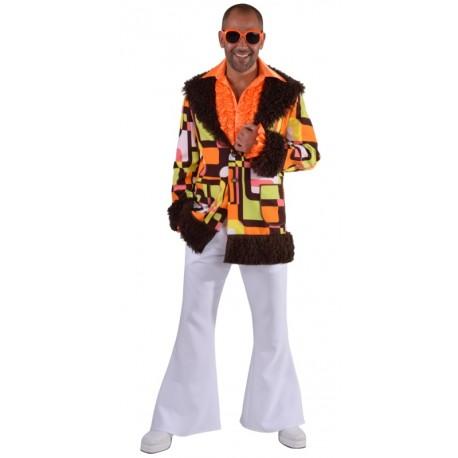 Déguisement hippie chic homme luxe