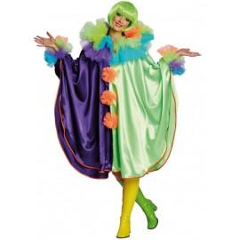 Déguisement cape clown femme