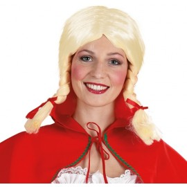 Perruque Bavaroise Gretchen blonde femme