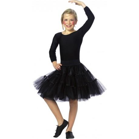 Déguisement jupe tulle noir fille