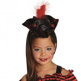 Mini chapeau pirate fille