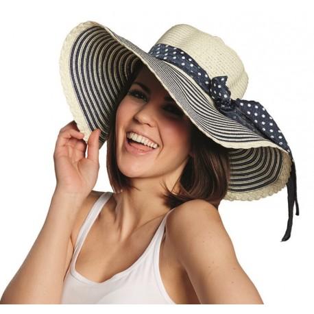 Chapeau de paille Florentine femme