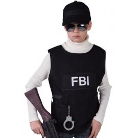 Déguisement gilet FBI garçon