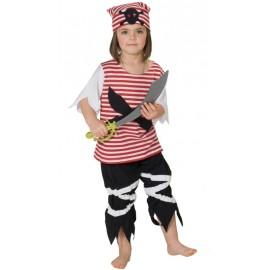 Déguisement pirate enfant mixte