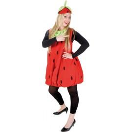 Déguisement fraise femme